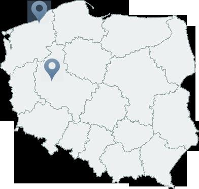 Nasze lokalizacje w Polsce